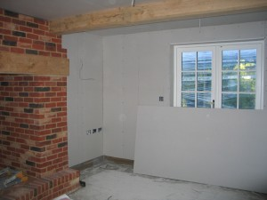 Plasterboard or Dry Lining