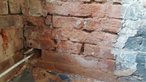 Plastering Malvern Worcestershire Rising Damp before and after 3